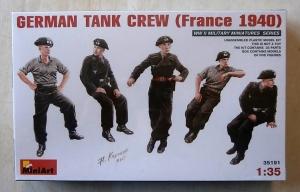 MINIART 1/35 35191 GERMAN TANK CREW  FRANCE 1940