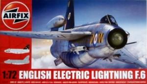 AIRFIX 1/72 05042 ENGLISH ELECTRIC LIGHTNING F.6