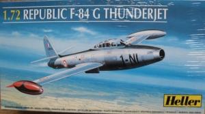 HELLER 1/72 80278 REPUBLIC F-84G THUNDERJET