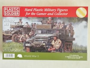 PLASTIC SOLDIER 1/72 WW2V20012 ALLIED M3 HALFTRACK