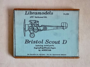 LIBRAMODELS 1/72 001 BRISTOL SCOUT D