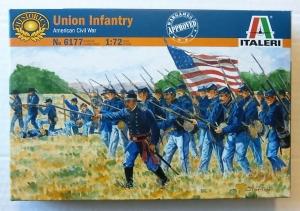 ITALERI 1/72 6177 UNION INFANTRY AMERICAN CIVIL WAR