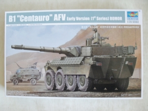TRUMPETER 1/35 01563 B1 CENTAURO AFV EARLY VERSION  1st SERIES  ROMOR