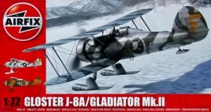 AIRFIX 1/72 02063 GLOSTER J-8A/GLADIATOR Mk.II