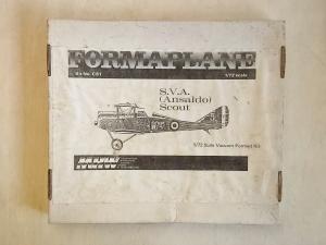 FORMAPLANE 1/72 C81 S.V.A  ANSALDO  SCOUT