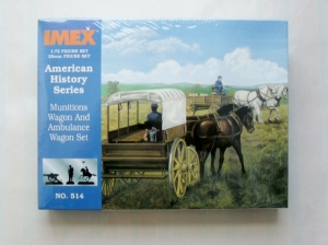 IMEX 1/72 514 MUNITIONS WAGON   AMBULANCE WAGON