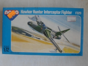 NOVO 1/72 F320 HAWKER HUNTER F.Mk I