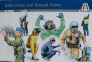 ITALERI 1/72 1246 NATO PILOTS   GROUNDCREW