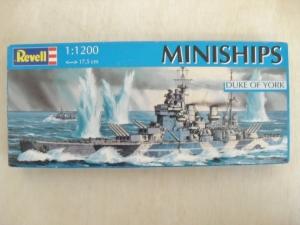REVELL 1/1200 06818 HMS DUKE OF YORK