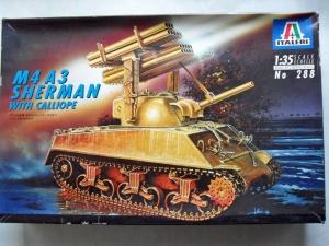ITALERI 1/35 288 M4A3 SHERMAN CALLIOPE