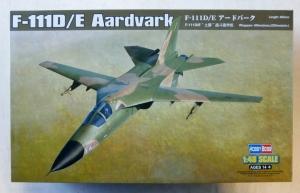HOBBYBOSS 1/48 80350 F-111D/E AARDVARK  UK SALE ONLY