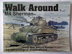 SQUADRON/SIGNAL WALK AROUND  5701. M4 SHERMAN