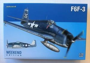EDUARD 1/72 7441 GRUMMAN F6F-3 HELLCAT