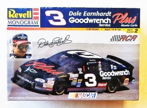 REVELL 1/24 85-2447 3 DALE EARNHARDT GOODWRENCH SERVICE PLUS MONTE CARLO