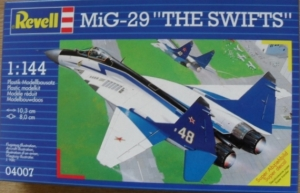 REVELL 1/144 04007 MiG-29 THE SWIFTS