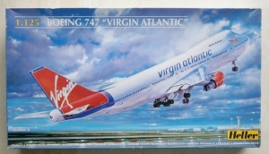 HELLER 1/125 80470 BOEING 747 VIRGIN ATLANTIC