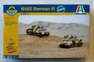 ITALERI 1/72 7511 M4A2 SHERMAN III