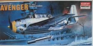 ACADEMY 1/72 1651 GRUMMAN TBF-1 AVENGER