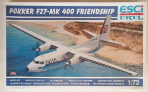ESCI 1/72 9111 FOKKER F27-Mk 400 FRIENDSHIP AIR UK