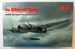 ICM 1/48 48236 JUNKERS Ju 88A-4/TORP WWII GERMAN TORPEDO PLANE