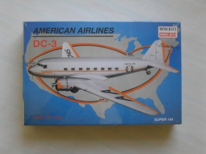 MINICRAFT 1/144 14490 DC-3 AMERICAN AIRLINES