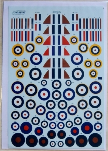 XTRADECAL 1/72 72226 BATTLE OF BRITAIN 75th ANNIVERSARY RAF NATIONAL MARKINGS