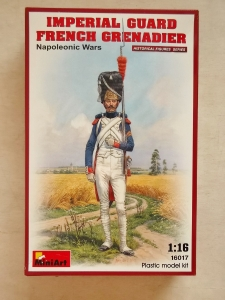 MINIART 1/16 16017 NAPOLEONIC IMPERIAL GUARD FRENCH GRENADIER