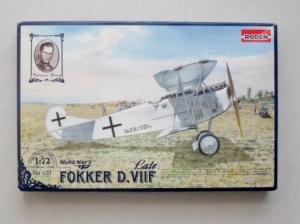 RODEN 1/72 031 FOKKER D.VIIF LATE
