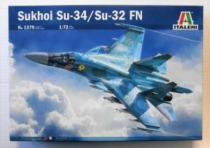 ITALERI 1/72 1379 SUKHOI Su-34/Su-32 FN