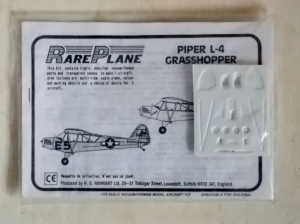 RAREPLANE 1/72 PIPER L-4 GRASSHOPPER