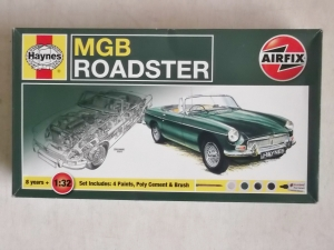 AIRFIX 1/32 MGB ROADSTER GIFT SET