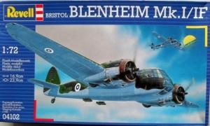 REVELL 1/72 04102 BRISTOL BLENHEIM Mk.I/IF