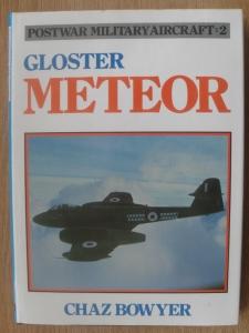 CHEAP BOOKS  ZB308 POSTWAR MILITARY AIRCRAFT 2 GLOSTER METEOR