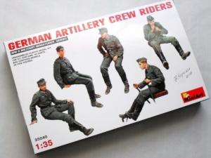 MINIART 1/35 35040 GERMAN ARTILLERY CREW RIDERS