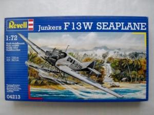 REVELL 1/72 04213 JUNKERS F13W SEAPLANE