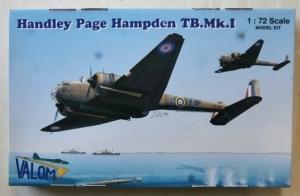 VALOM 1/72 72042 HANDLEY PAGE HAMPDEN TB.Mk.I