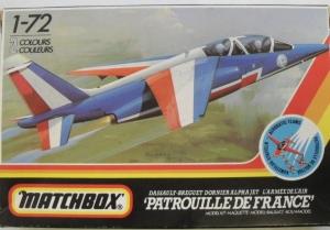 MATCHBOX 1/72 PK-05 ALPHA JET