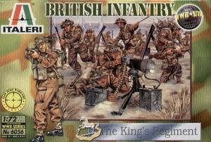 ITALERI 1/72 6056 WWII BRITISH INFANTRY KINGS REGT