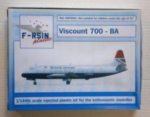 F-RSIN 1/144 4050 VISCOUNT 700 BA
