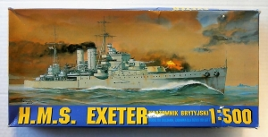 CHEMATIC 1/500 HMS EXETER
