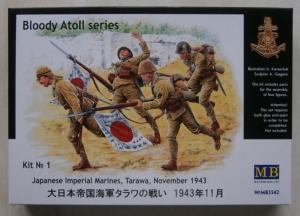 MASTERBOX 1/35 3542 BLOODY ATOLL SERIES KIT 1 JAPANESE IMPERIAL MARINES TARAWA NOVEMBER 1943