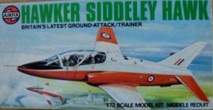 AIRFIX 1/72 03026 HAWKER SIDDELEY HAWK