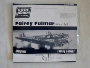 RAREPLANE 1/72 FAIREY FULMAR Mks I   II