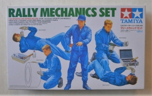 TAMIYA 1/24 24266 RALLY MECHANICS SET