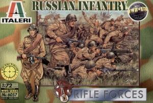 ITALERI 1/72 6057 WWII RUSSIAN INFANTRY