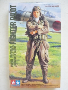 TAMIYA 1/16 36312 WWII IJN FIGHTER PILOT