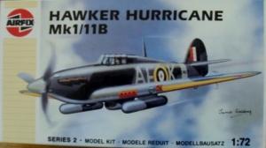 AIRFIX 1/72 02042 HAWKER HURRICANE Mk.I/IIB