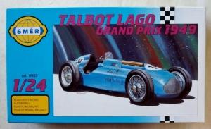 SMER 1/24 0953 TALBOT LAGO GRAND PRIX 1949