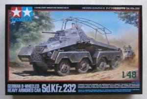 TAMIYA 1/48 32574 Sd.Kfz.232 GERMAN 8 WHEELED HEAVY ARMORED CAR