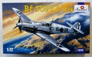 A MODEL 1/72 72117 MESSERSCHMITT Bf 109E3/E4